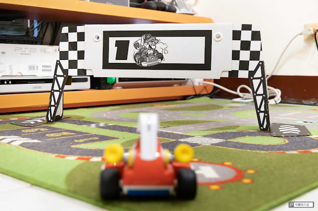 【遊戲】任天堂 AR 競速玩起來《瑪利歐賽車實況:家庭賽車場》 - 賽車上的廣角鏡頭會放大賽道即視感,但很多彎都過得去
