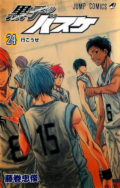 Okładka mangi Kuroko no Basket