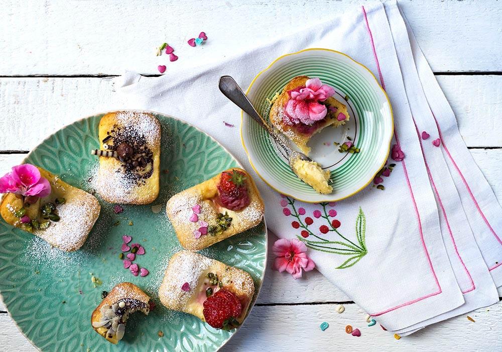 Torta Nua Mini-Cakes - Traumhafte italienische Ricotta Küchlein