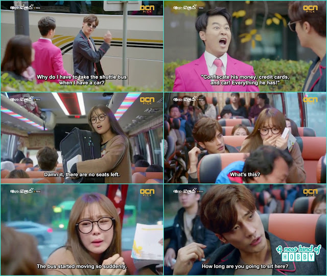 Yoo Mi and jin wook funny encounter in the bus - My Secret Romance: Episode 1