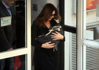 Carla Bruni, 43, gives birth