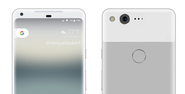 This is what Google's 2017 Pixel XL will probably look like in Very Silver