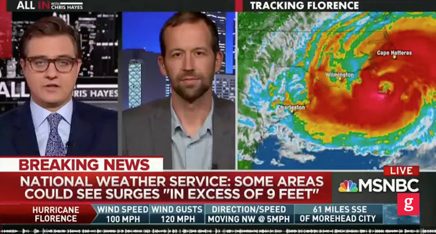 Media Politicize Florence, Blame Trump for Storms, Predict Mass Death