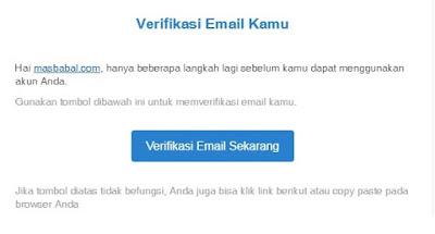 Selamat! Email kamu sudah berhasil terverifikasi di platform Kartu Prakerja.
