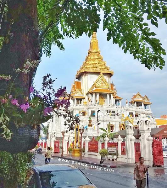 Pemandangan Jalanan Di Thailand