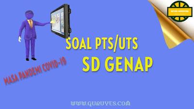 yang dapat anda download secara gratis berserta jawabannya untuk Soal UTS Download Soal PTS Seni Budaya SD Kelas 3 Semester 2 Kurikulum 2013