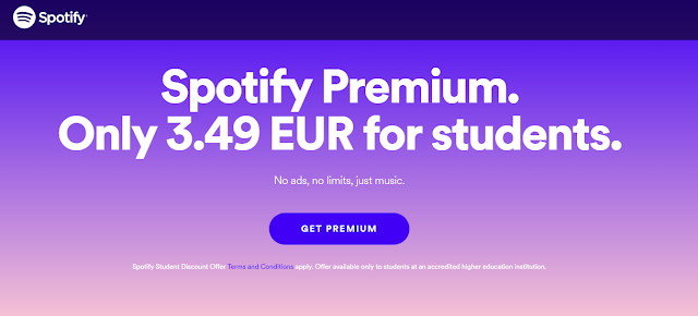 spotify for students