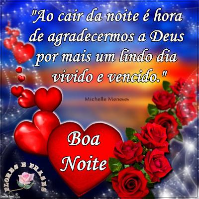 Tag Frases De Boa Noite Com Deus E Flores