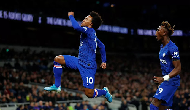 Hasil Liga Inggris 2019 Pekan 18 : Manchester City dan Chelsea Raih Poin Penuh