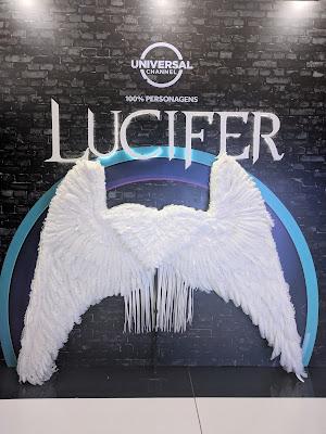 Réplica fiel da asa de Lucifer - Divulgação: Canal Universal