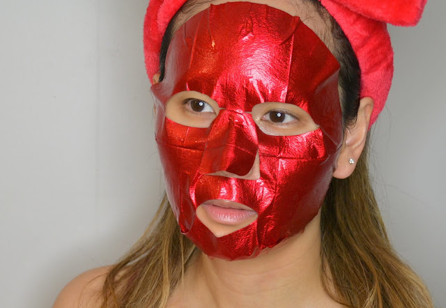 Yadah Red Energy Foil Mask