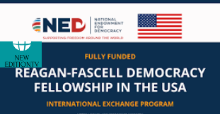 REAGAN-FASCELL DEMOCRACY FELLOWSHIP 2022 IN USA FULLY FUNDED