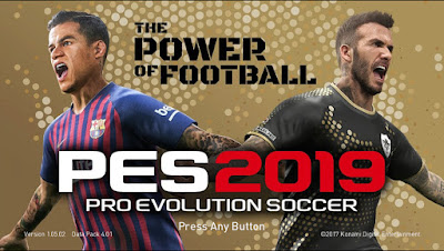 PES 2018 Mini Patch Season 2018/2019