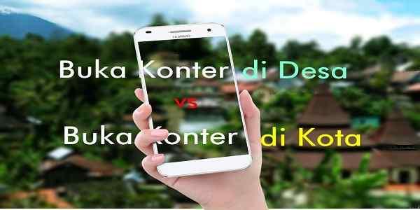 Strategi Usaha Konter Handphone Pada Wilayah Pedesaan
