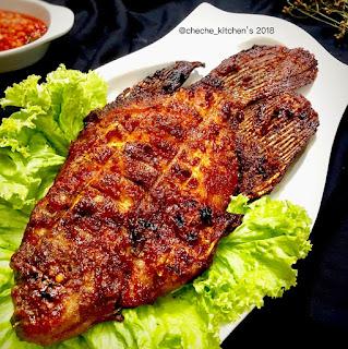 Resep Masak Ikan Gurame Bakar Kecap Manis