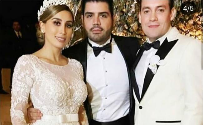 """La sonada boda de Alejandrina Guzmán, la hija de """"El Chapo"""", que paralizó Culiacán"""