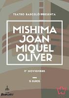 Concierto de Mishima y Joan Miquel Oliver en Teatro Barceló