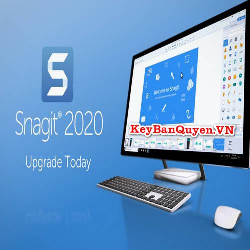Bán key bản quyền TechSmith Snagit 2020.