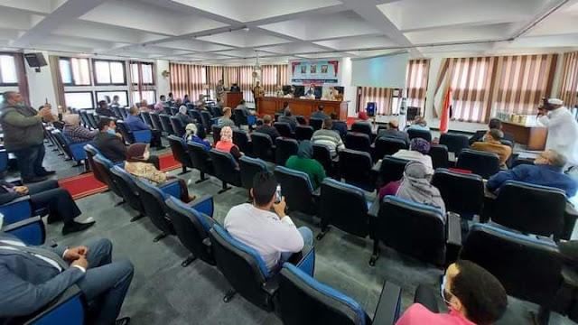 """محافظ البحيرة يشهد الجلسة الإفتتاحية للمؤتمر الدولي الثالث """"الرقمنة بين الحاجة والضرورة دراسة تطبيقية على جامعة دمنهور """" ."""