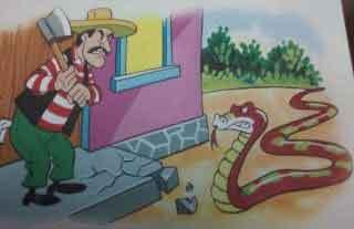 fabula el campesino y la culebra
