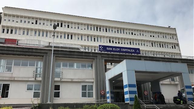 Fachada del hospital de San Eloy