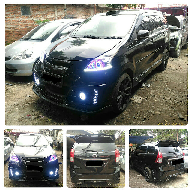 bemper custom new avanza xenia