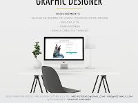 lowongan kerja graphic designer peter&co