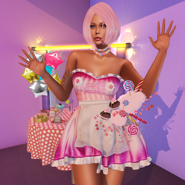 Cotton Candy *Look 1356*