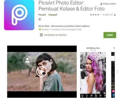 cara memperbaiki foto yang blur dengan picsart