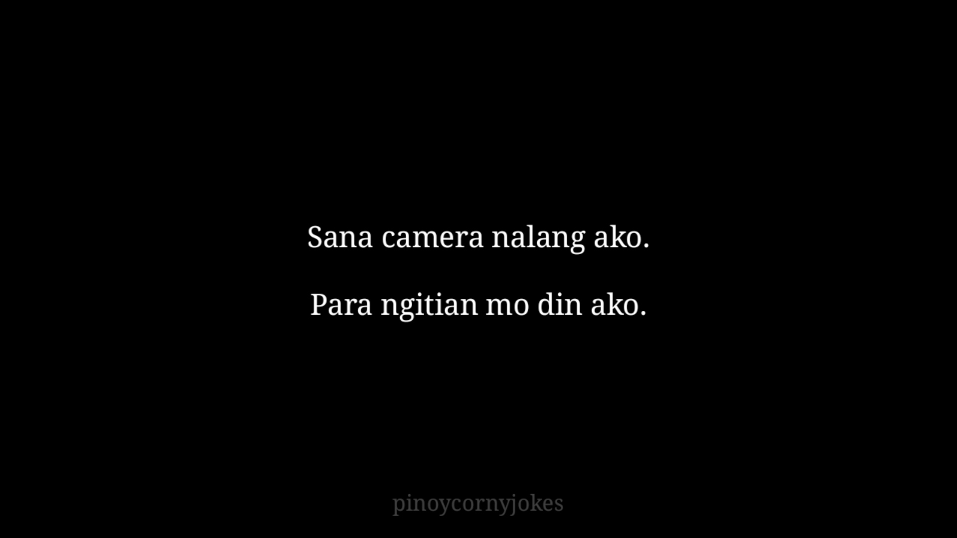 Camera Pinoy Pick Up Lines