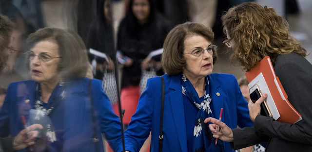Dianne Feinstein Drafts House Candidates in Effort to Stave Off Party Endorsement Loss in California