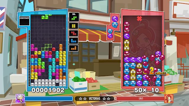 Puyo Puyo Tetris 2 Avance