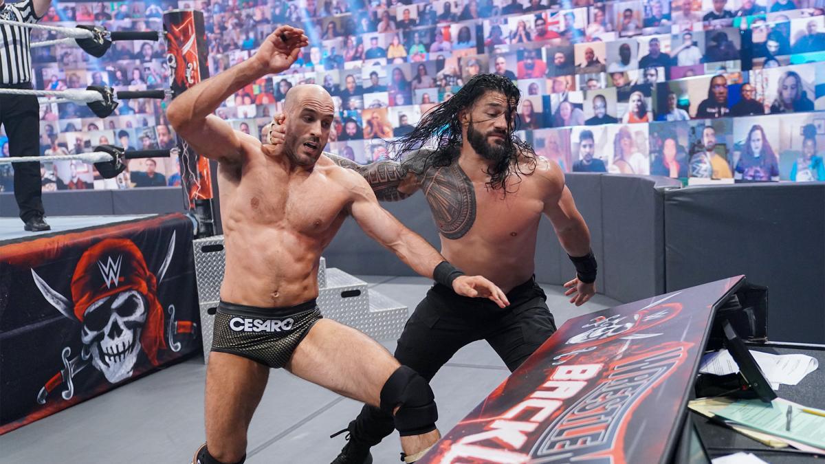 WrestleMania Backlash - Eredmények