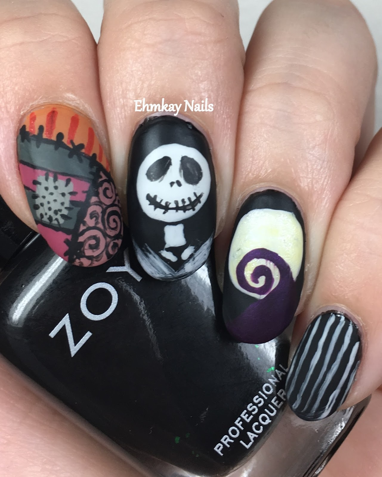 ehmkay nails: Halloween Nail Art from Ehmkay Nails, Recap!