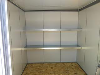 Interior caseta prefabricada Thermoestank