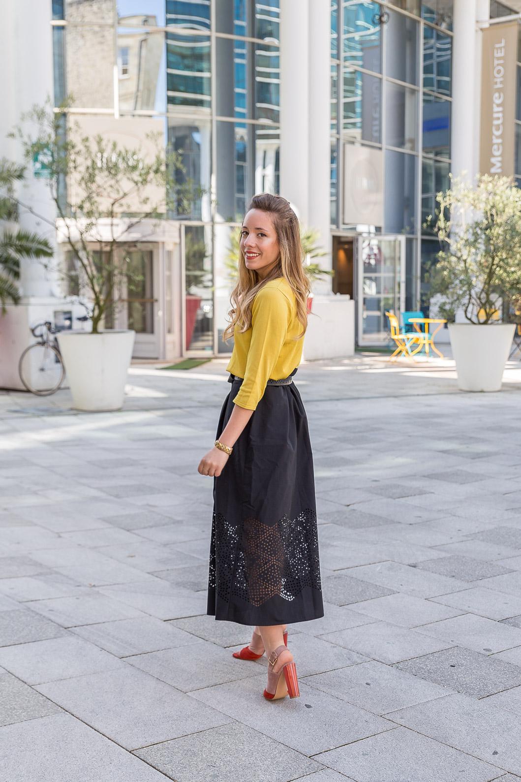blogueuse mode tenue du jour printemps été