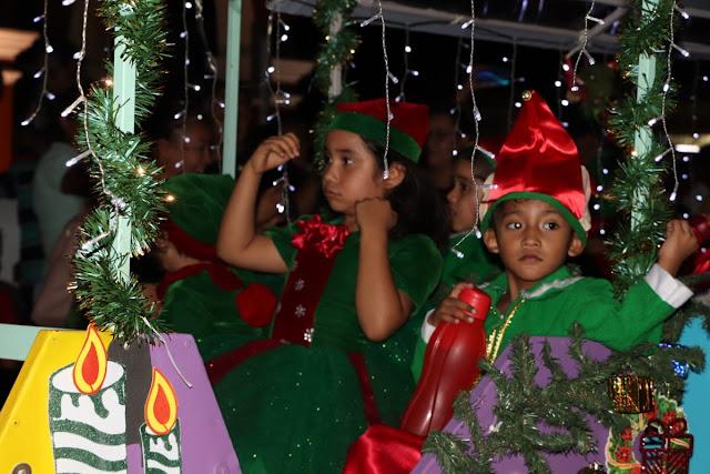 Inician las festividades decembrinas en Apatzingán