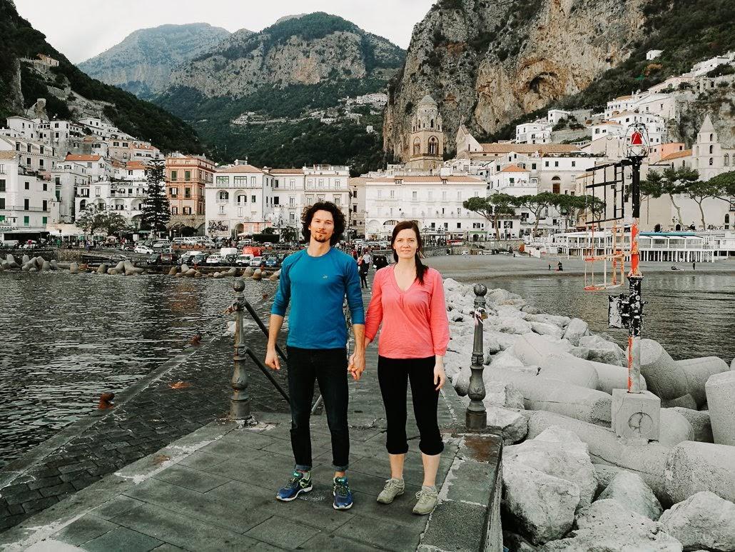 ceļojums uz itāliju amalfi kalni
