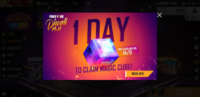 How to get magic cube in free fire