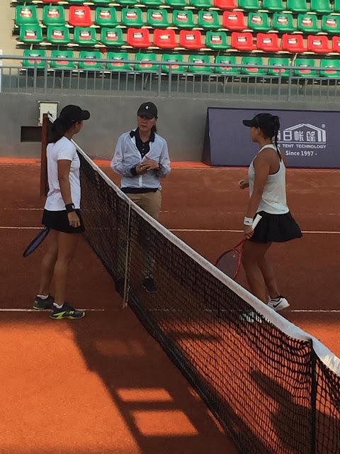 ITF World Tennis Tour W60 Changsha: Langkah Dila & Eci Pada Nomor Tunggal Terhenti