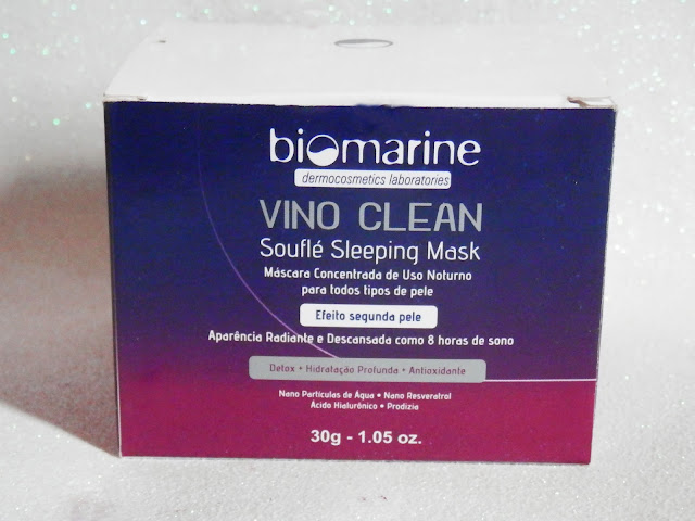 Resenha: Vino Clean - Souflé Sleeping Mask da Biomarine