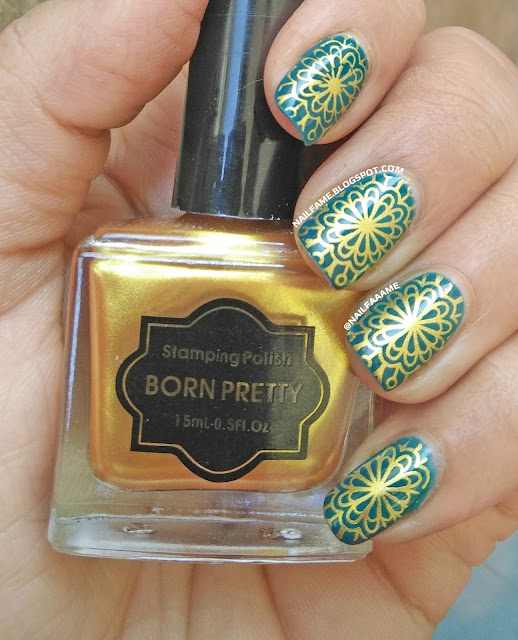 BORN PRETTY STORE STAMPING NAILART BP-L052