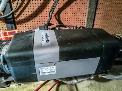 Photo of Ravensdale's Webasto diesel heater