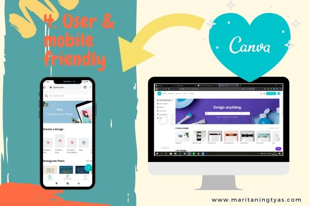 cara membuat infografis blog di canva user dan mobile friendly