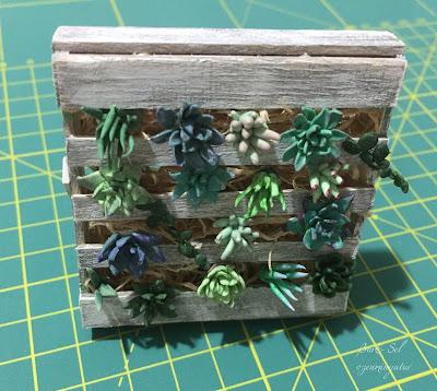 Mini Pallet Coaster