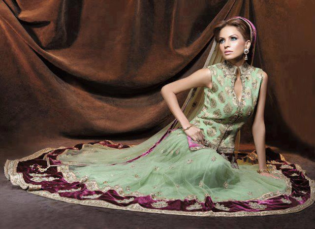 Pakistani Bridal Hairstyles 2014 2015 For Walima Party And: Fashion World Latest Fashion: Latest Pakistani Bridal