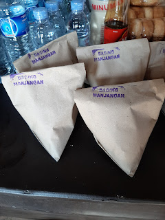 nasi menjangan di dermaga tiwingan
