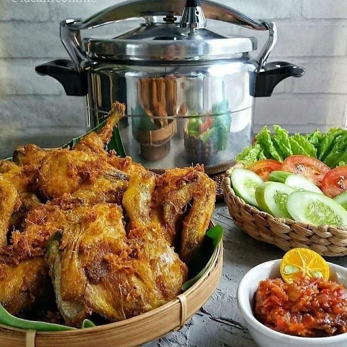 Ayam Goreng Tulang Lunak - Resep Olahan Ayam
