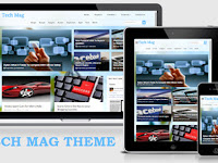 TECH MAG BLOGGER TEMPLATES