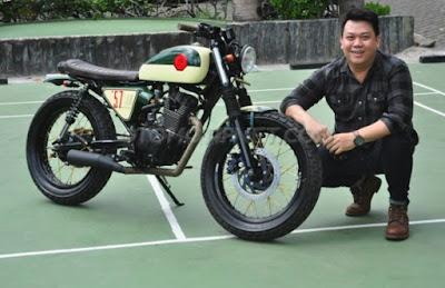 Modifikasi Honda Tiger Revo Scrambler